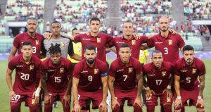 La «Vinotinto» debuta ante Colombia de visitante