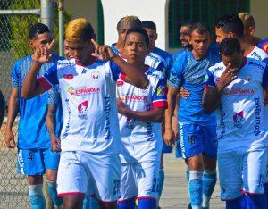 Yaracuyanos FC le ganó 4-2 al Gran Valencia en el primero de la final