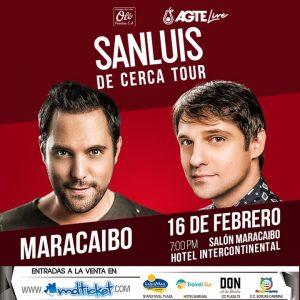 ¡San Luis vuelve a Maracaibo con «De cerca tour»!