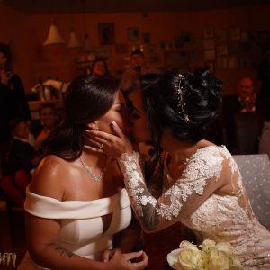 Vanessa Senior y Nany Luna se casaron en España