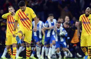 #LaLiga: Barcelona empata con el Espanyol y vuelve a compartir liderato