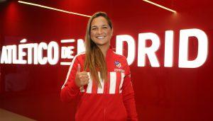 Deyna Castellanos fichó con el Atlético de Madrid Femenino