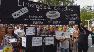 Diputado Avilio Troconiz: «acompañamos a los maestros en la tragedia que viven a diario»