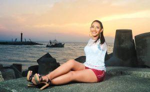 Ana Gabriela Molina, la «miss» mexicana sin brazos que busca ser reina de belleza de Veracruz