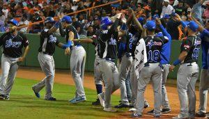 #LiDom: Tigres dan primer «zarpazo» al masacrar a los Toros 17-2 en inicio Serie Final