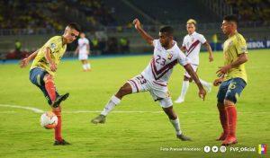 «Vinotinto» Sub-23 se queda fuera de Tokio 2020 tras caer ante Colombia