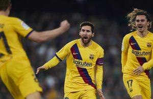 #LaLiga: Barcelona remonta y gana al Betis para seguir al acecho en la tabla