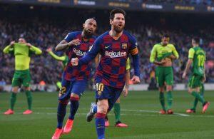 #LaLiga: Barcelona de Messi derrota al Eibar con goleada