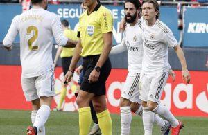 #LaLiga: Real Madrid golea al Osasuna y mantiene el liderato en liga