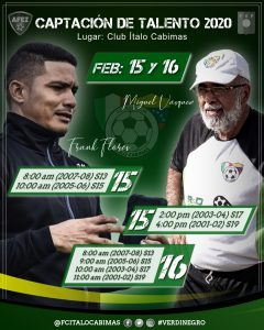 FC Ítalo Cabimas arranca el 2020 con captación de talento