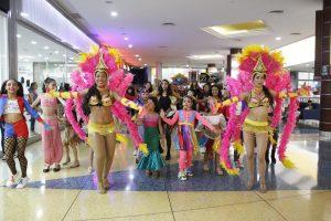 En el Sambil se disfrutó el Carnaval por todo lo alto