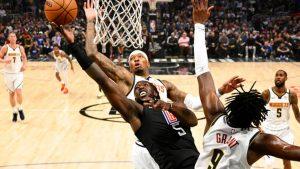 #NBA: Clippers vencen a Nuggets y los igualan en el segundo lugar del Oeste