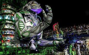 Ovacionan en carnaval de Brasil a desfile en homenaje a China