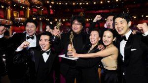 La surcoreana «Parásitos» hace historia en los Oscar