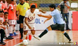 Vinotinto de Futsal goleó 5-1 a Uruguay y sueña con el Mundial Lituania 2020