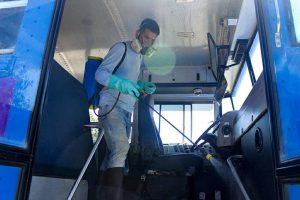 La Alcaldía desinfecta diariamente las unidades de BusMaracaibo para prevenir el COVID-19