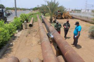 Alcaldía sustituye tubería de agua potable en la Circunvalación Uno de Maracaibo
