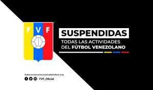 Suspendidas todas las actividades en el fútbol nacional