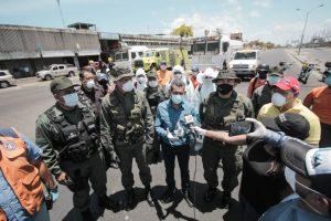 Se inició Plan de Desinfección Nacional en el centro de Maracaibo para prevenir el COVID-19
