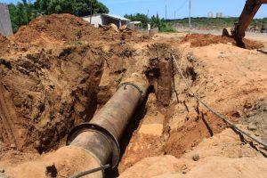 Alcaldía Bolivariana de Maracaibo repara aducción de agua potable para beneficiar a tres municipios