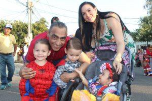 Santa Rita disfrutó con alegría de comparsas y música en los Carnavales 2020