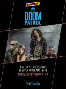 El universo DC llega a Cinemax con el estreno exclusivo de Doom Patrol