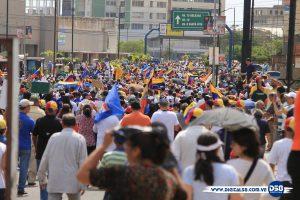 Zulianos se movilizaron en respaldo a Guaidó y a la Asamblea Nacional