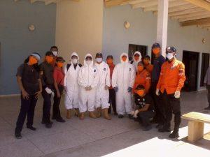 Protección Civil Seccional Zulia realizó proceso de desinfección en la Isla de Toas