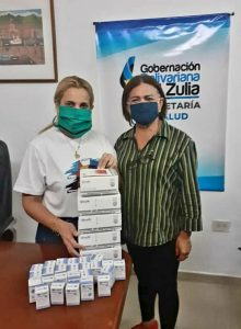 Gobernación del Zulia recibió pruebas rápidas para diagnóstico de COVID-19