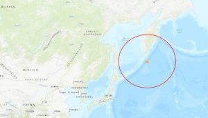 Sismo de magnitud 7,5 golpea mar adentro de las Islas Kuriles de Rusia