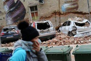 Un terremoto sacude Zagreb, causando una muerte y daños generalizados