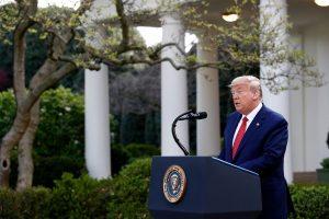 Trump extiende las medidas de distanciamiento social hasta el 30 de abril