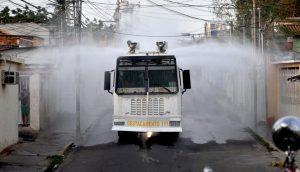 Maracaibo: Plan Nacional de Desinfección limpió las calles de Santa Lucía