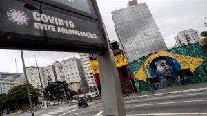 Brasil registra 38.654 contagios y 2.462 muertes por COVID-19