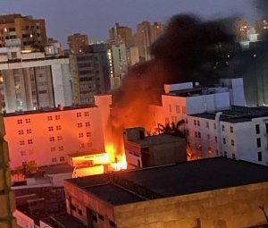 Explotaron sala de máquinas y transformador del Hotel Kristoff de Maracaibo