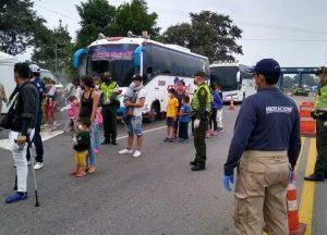 Venezolanos inician peregrinar de regreso a casa en medio de la pandemia y en el inicio de la Semana Santa