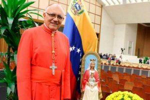 Cardenal Porras: «Los venezolanos están en una gran incertidumbre por falta información veraz»