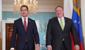 USA reafirma su «compromiso» con la Asamblea Nacional encabezada por Guaidó