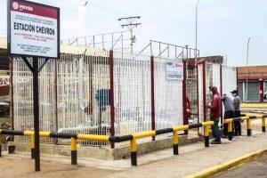 Más de 12 mil 500 familias de sector Los Robles se favorecen con mantenimiento de estación de gas