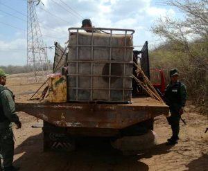 2500 litros de Gasoil retiene GNB en el Zulia