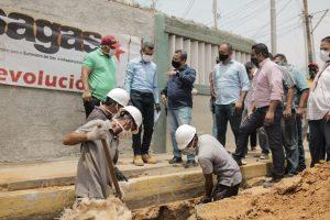 Alcaldía de Maracaibo mejoró el suministro de gas por tubería en el sector Rey de Reyes