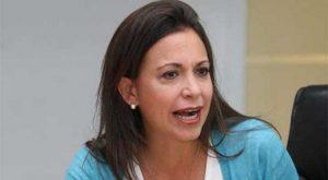 María Corina Machado: «están muriendo miles de personas y ni nos enteramos»
