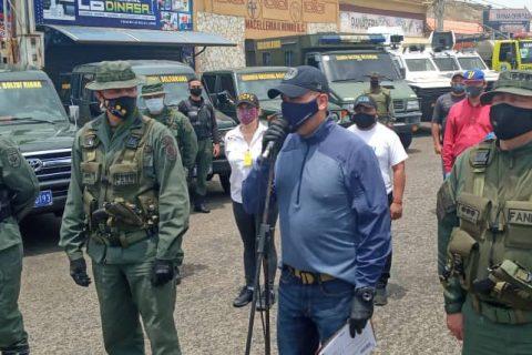 Gobernador Omar Prieto anunció mercado «Las Pulgas» estará cerrado por más de un mes