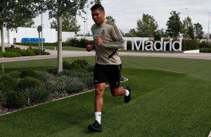 Real Madrid culmina primera semana de entrenamientos optimistas de regresar
