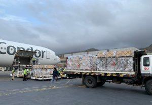 Llega a Venezuela cargamento con insumos médicos desde Alemania