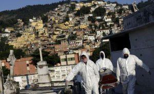 Brasil reporta 674 nuevas muertes por coronavirus y se convierte en tercer país con más infectados