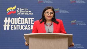 Delcy Rodríguez confirmó  dos nuevos casos de COVID-19 en el país