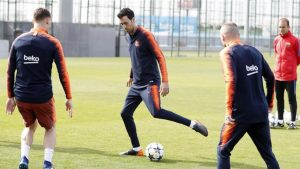 Barcelona continúa los entrenamientos en el Joan Gamper