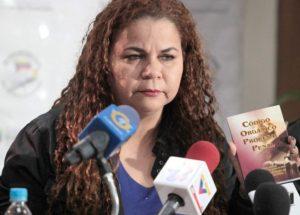 Iris Varela: vinculó a la oposición venezolana con el motín de Guanare