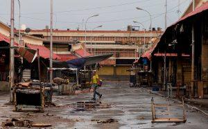Inició el asfaltado del mercado Las Pulgas, en Maracaibo